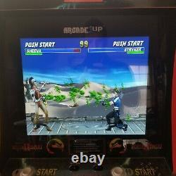 Ultimate Mortal Kombat Withriser 1 2 & 3 Arcade Machine Arcade1up Tout Fonctionne