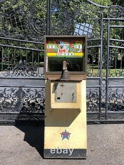 Vintage 1950s Rifle Champ Pièce Exploité 10 Cents Arcade Midway Machine Game