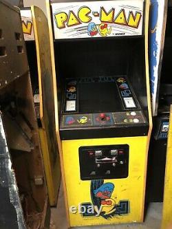 Vintage 1980 Midway Mfg. Original Pac-man Arcade Machine Livraison Gratuite