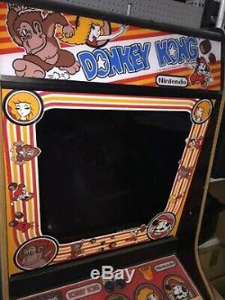 Vintage 1981 Nintendo Original Donkey Kong Arcade Game Machine De Travail Des Jeux
