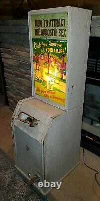 Vintage Arcade Coin Operated Peep Show Machine (1946)