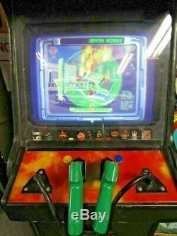 Vintage Atari Area 51 / Maximum Force Double Arcade Machine De Travail De Nice Rare