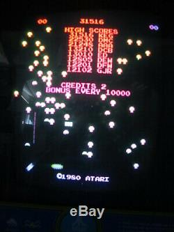 Vintage Atari Centipede Coin Op Arcade Game Machine