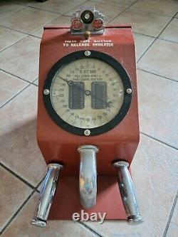 Vintage Gottlieb Strength Tester Penny Arcade Machine Chicago One Cent