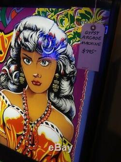 Vintage Gypsy Palm Reader Diseur De Bonne Aventure Coin-op Arcade Machine