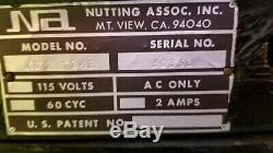 Vtg 1971 Nutting (atari) Machine D'arcade De Jeux Vidéo (2 Joueurs)