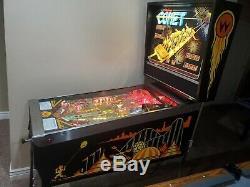 Williams Arcade Flipper Comet Travail Jeu Vidéo D'arcade Grand Joueur