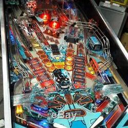 Williams Terminator 2 Pinball Machine Jeu D'arcade Great Shape 1991