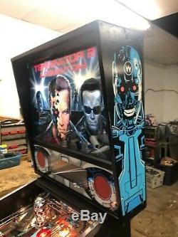 Williams Terminator 2 T2 Flipper