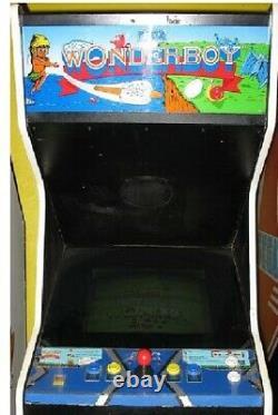 Wonder Boy Arcade Machine Par Sega 1986 (excellent Condition) Rare