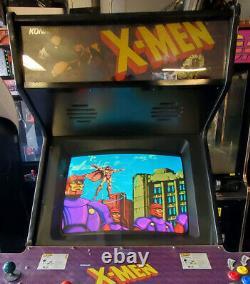 X-men 4 Player Machine De Jeu D'arcade Pleine Grandeur! Classique! Grande Forme! Konami