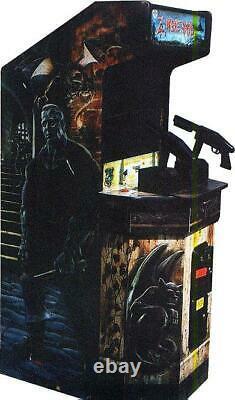 Zombie Raid Arcade Machine Par Amamie Américaine 1995 (excellent État)