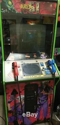Zone 51 Maximum Force Machine Arcade Par Atari 1997 (excellent État) Rare