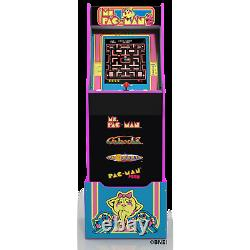 (nouveau) Mme Pacman Arcade Machine With Riser, Arcade1up Fast Delivery